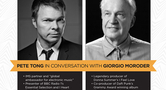 PETE TONG IN CONVERSATION WITH GIORGIO MORODER